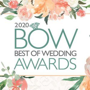 BOW - 2020 Best Of Weddings Orlando Magazine awards