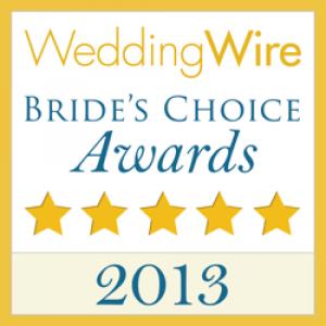 Wedding Wire - 2013 Brides choice award