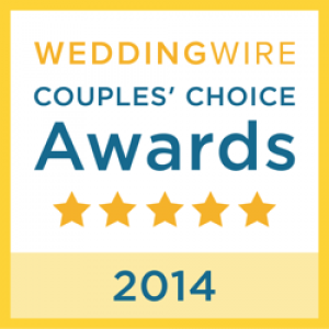 Wedding Wire - 2014 couples choice award