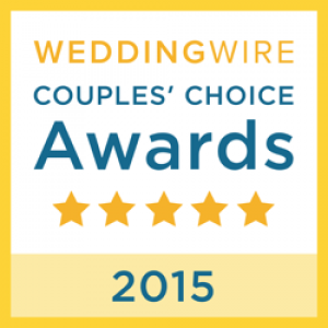 Wedding Wire - 2015 Couples choice award